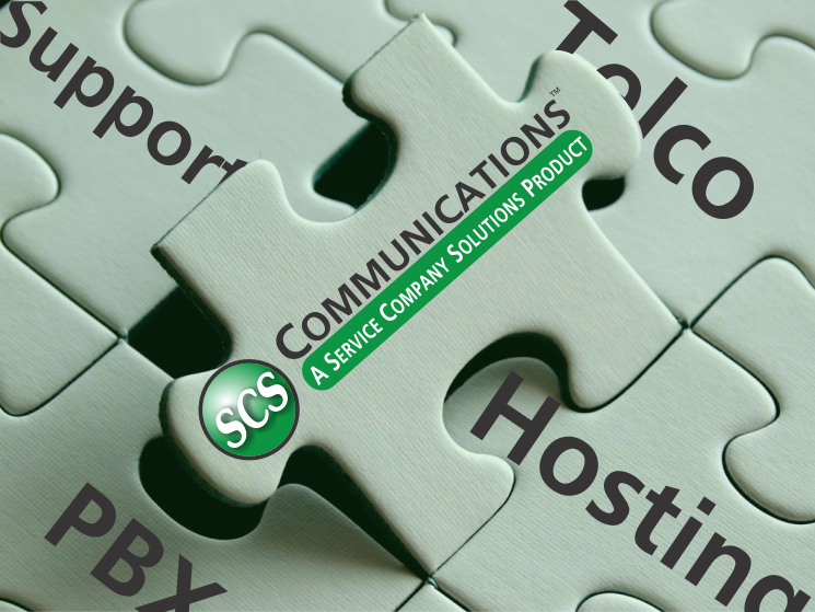 SCS Communications Puzzle Graphic